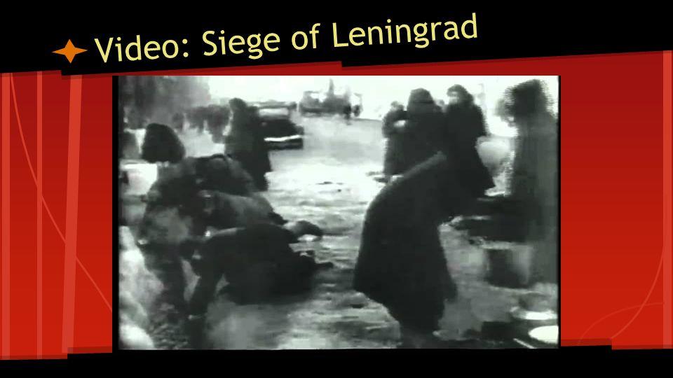 Video: Siege of Leningrad