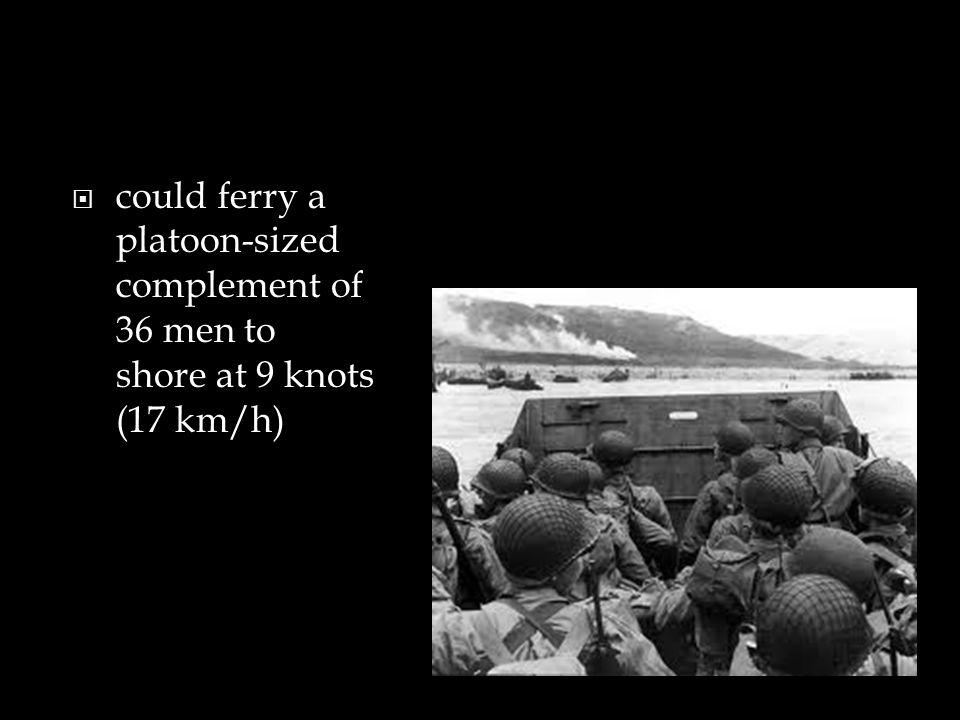 Similar boats used by:  British troops  German troops  Japanese troops