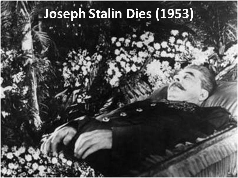 Joseph Stalin Dies (1953)