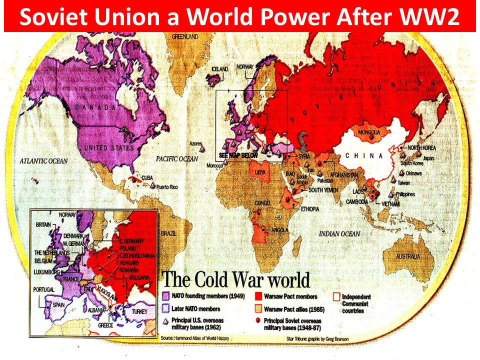 Soviet Union a World Power After WW2