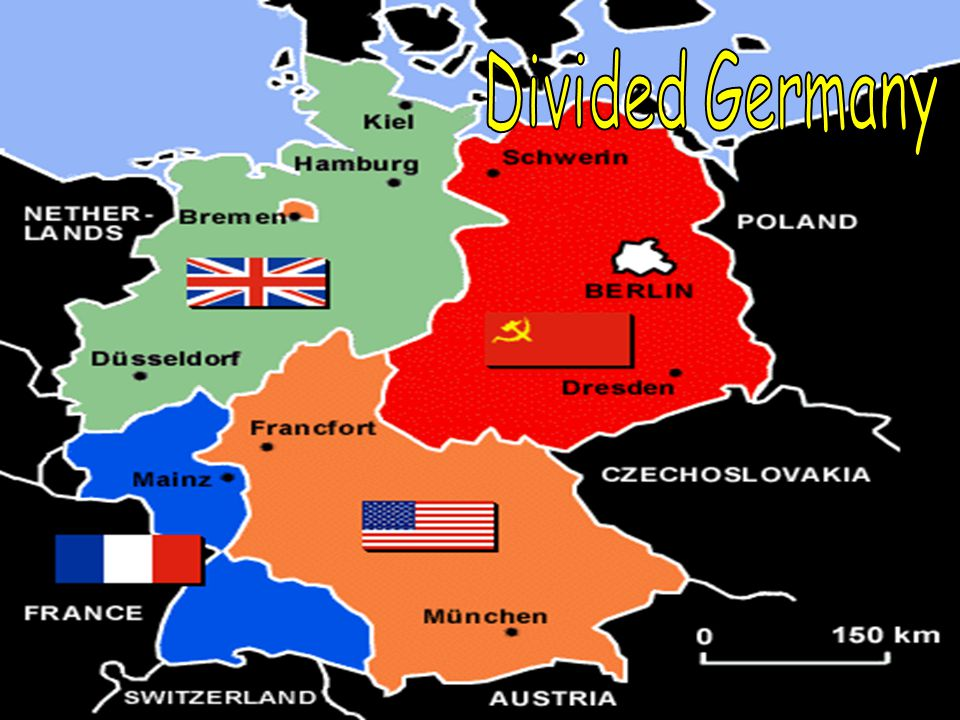 Iron Curtain – A term used by Winston Churchill to describe the separating of Those communist lands of East Europe from the West.