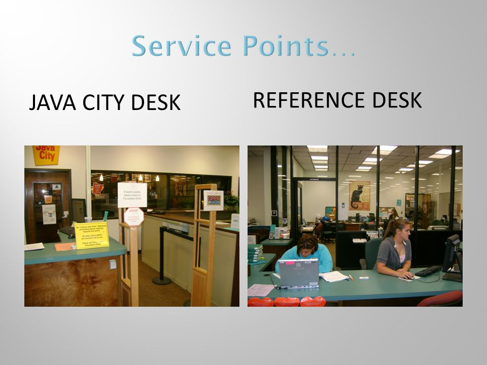 JAVA CITY DESK REFERENCE DESK