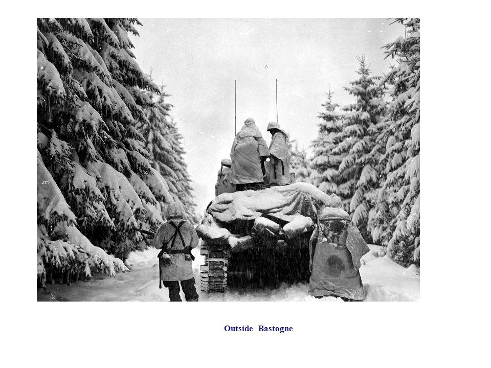 Outside Bastogne