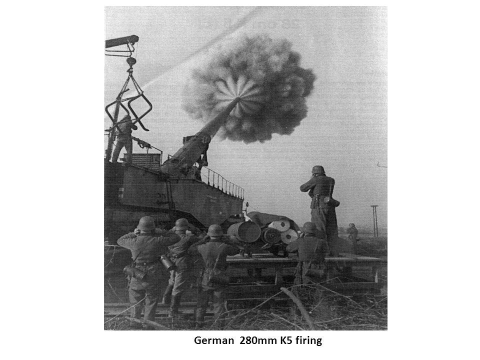 German 280mm K5 firing