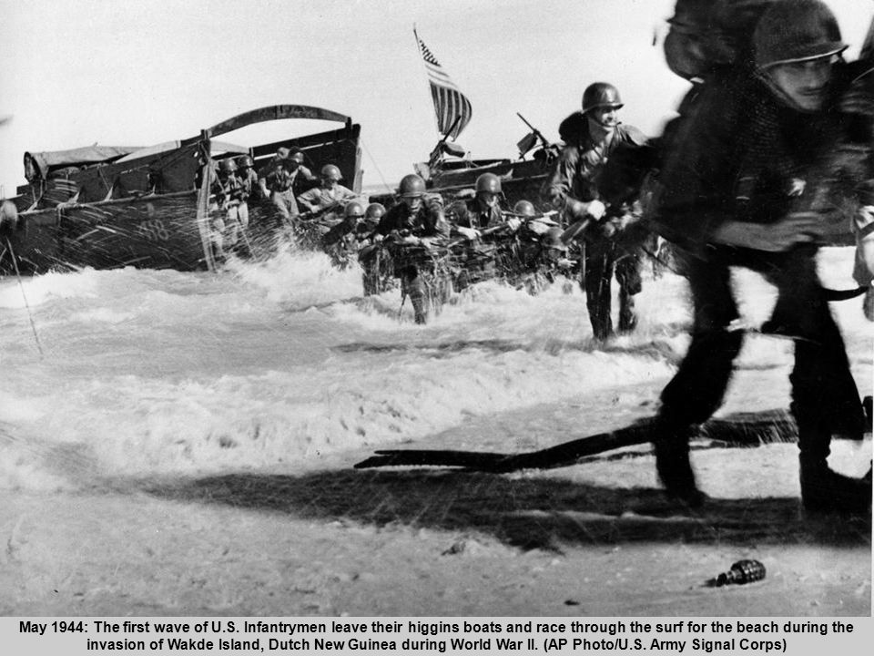 52 May 1944: The first wave of U.S.