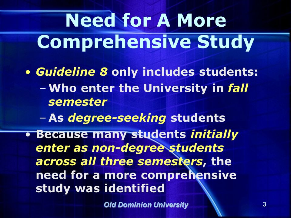 Old Dominion University 24 What About Data by VCCS Institution.