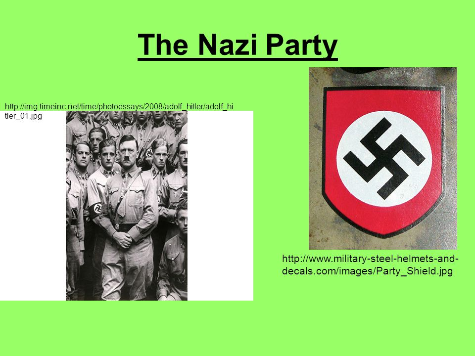The Nazi Party   decals.com/images/Party_Shield.jpg   tler_01.jpg