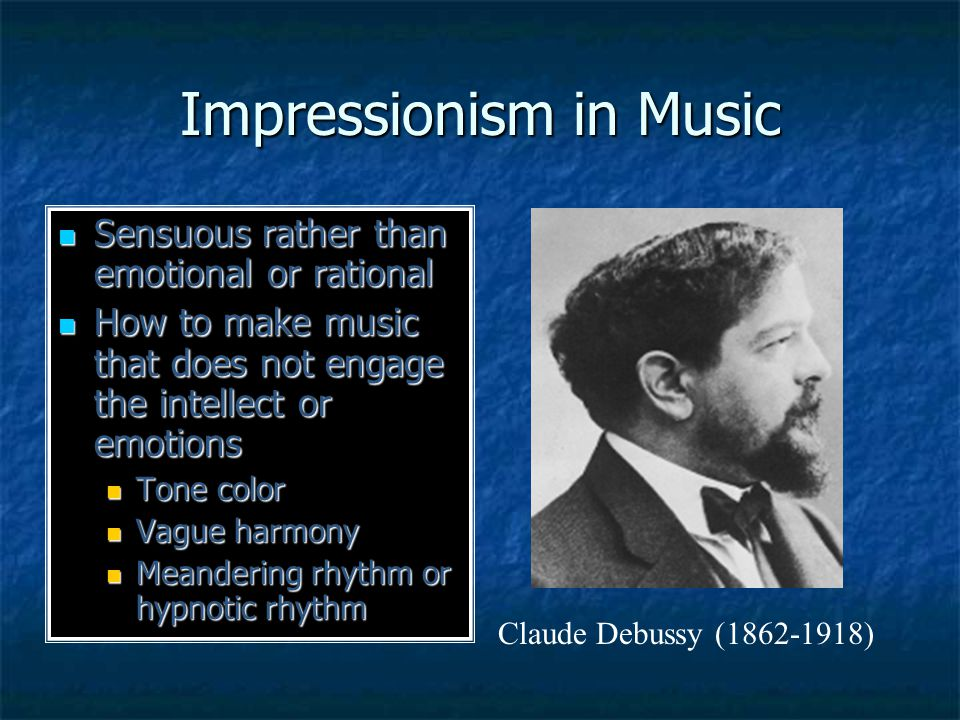 Music should humbly seek to give pleasure….It is essential that beauty be sensual, that it give us immediate enjoyment, that it impose itself or insinuate itself into us without our making any effort to grasp it.