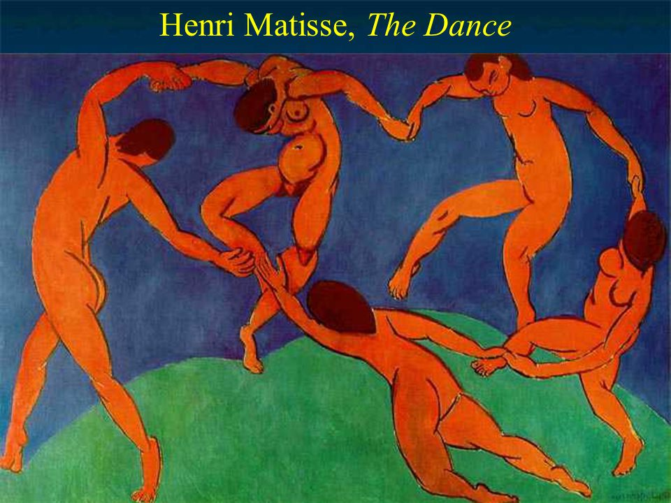 Fauvism (Wild Beastism) Violent break from tradition the wild beasts Henri Matisse