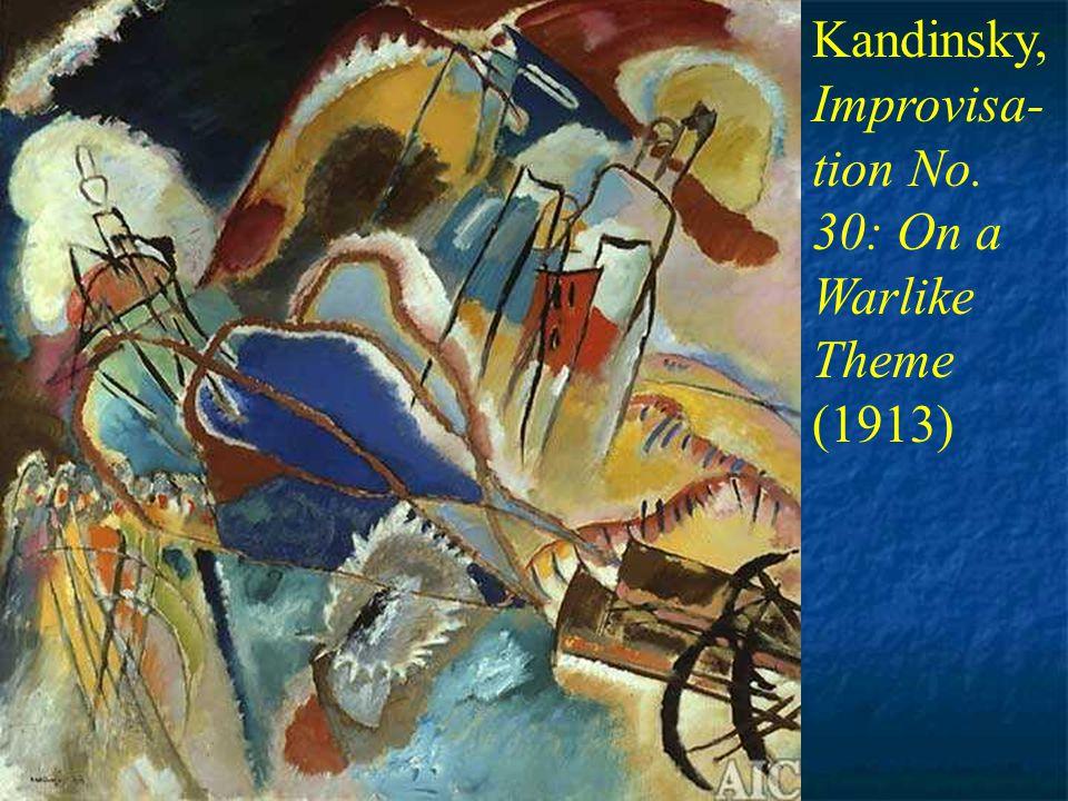 Der Blaue Reiter ( The Blue Rider ) Movement founded in Munich, Germany, 1911 Wasily Kandinsky, Der Blaue Reiter, 1911