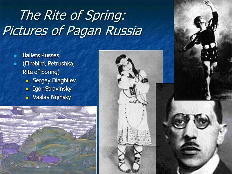 Igor Stravinsky, The Rite of Spring (1913)
