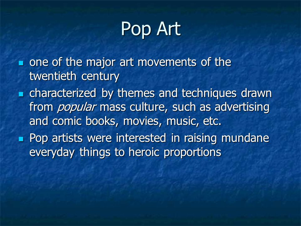 Minimalism in Music  Movement in the 1960s as a reaction to the complexities and disconnect of expressionism  Used an economy of materials and relie
