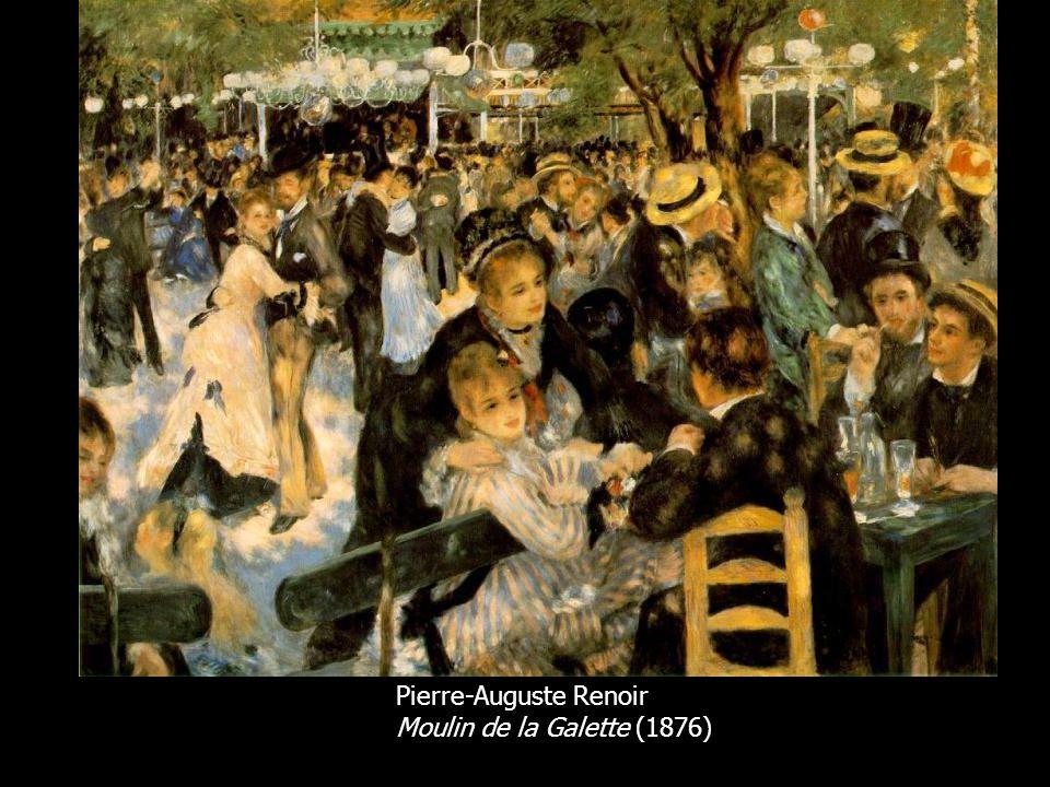 Pierre-Auguste Renoir Moulin de la Galette (1876)