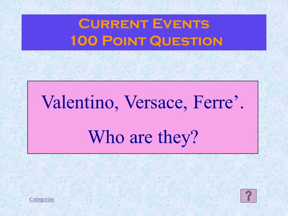 Categories Giosué Carducci Language 500 Point Answer