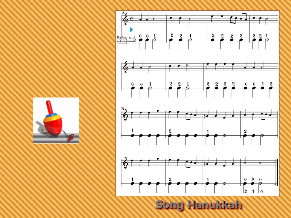 Song Hanukkah