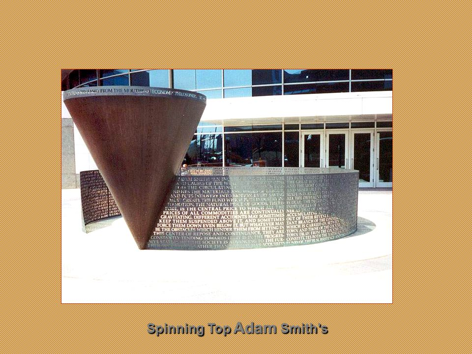 Adam Smith sSpinning Top Adam Smith s Spinning Top