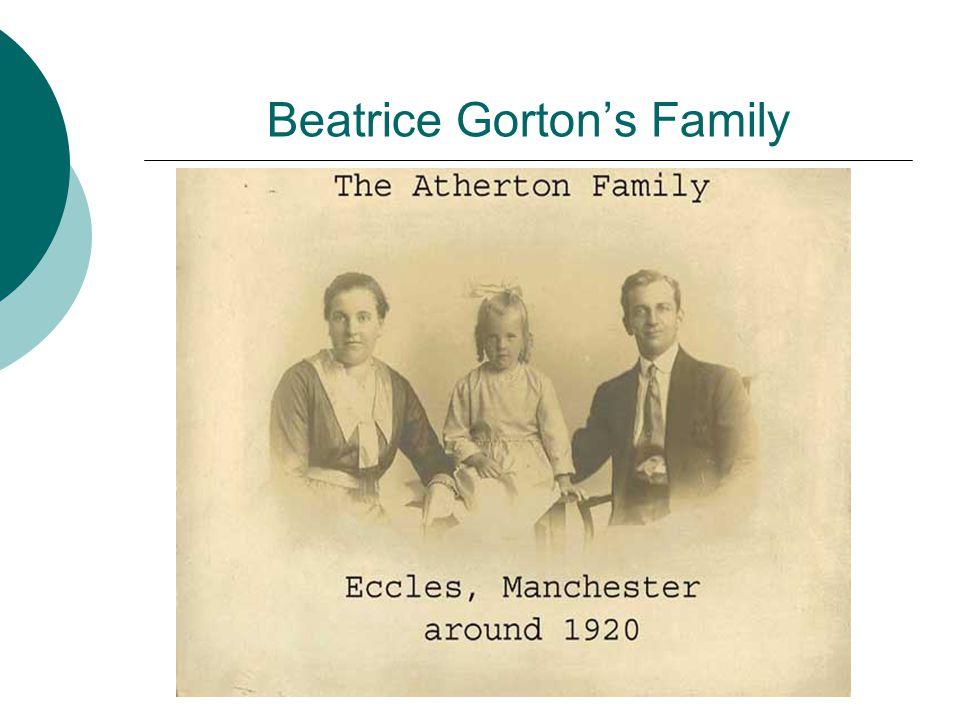 Beatrice Gorton's Family