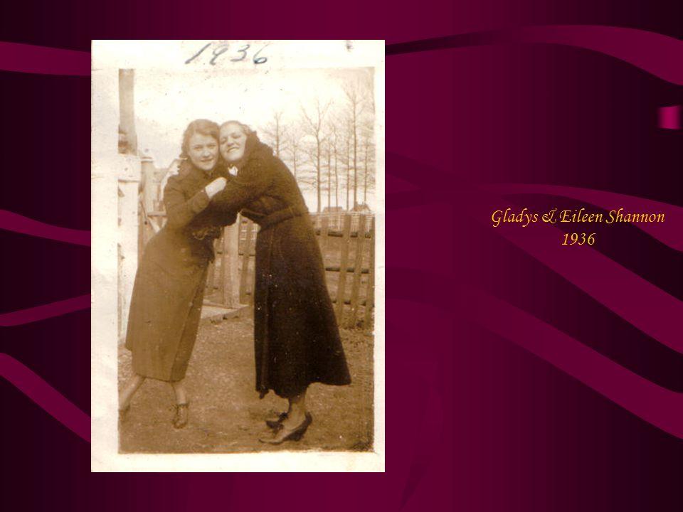 Gladys & Eileen Shannon 1936