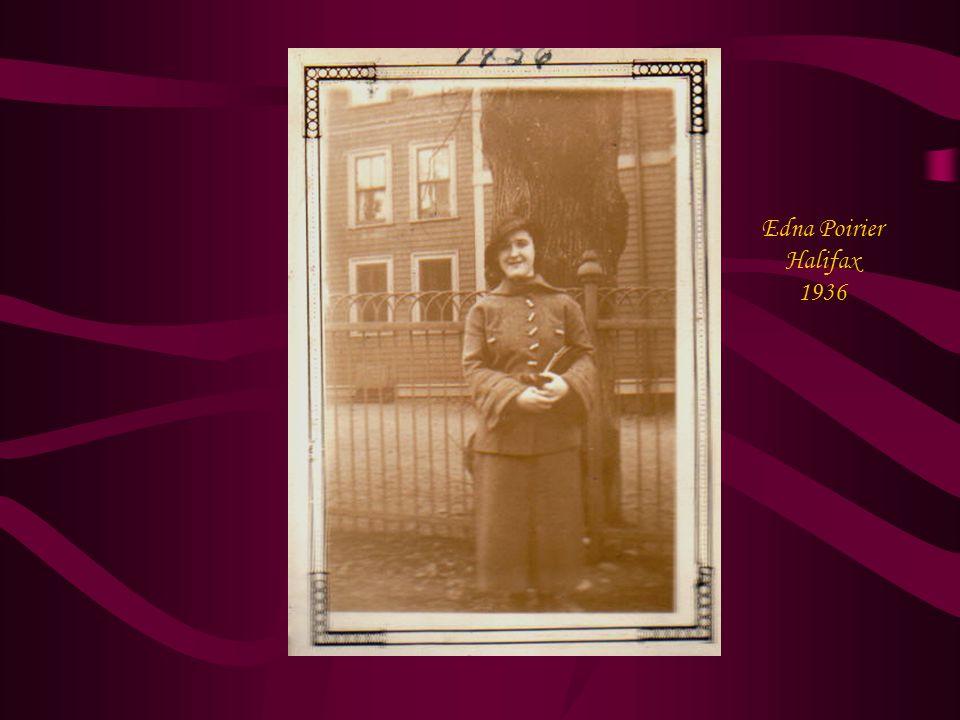 Edna Poirier Halifax 1936