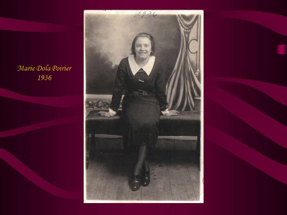Marie Dola Poirier 1936