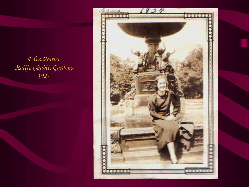 Edna Poirier Halifax Public Gardens 1927