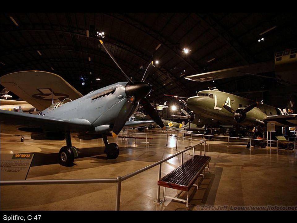 Spitfire, C-47