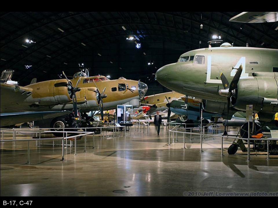 B-17, C-47