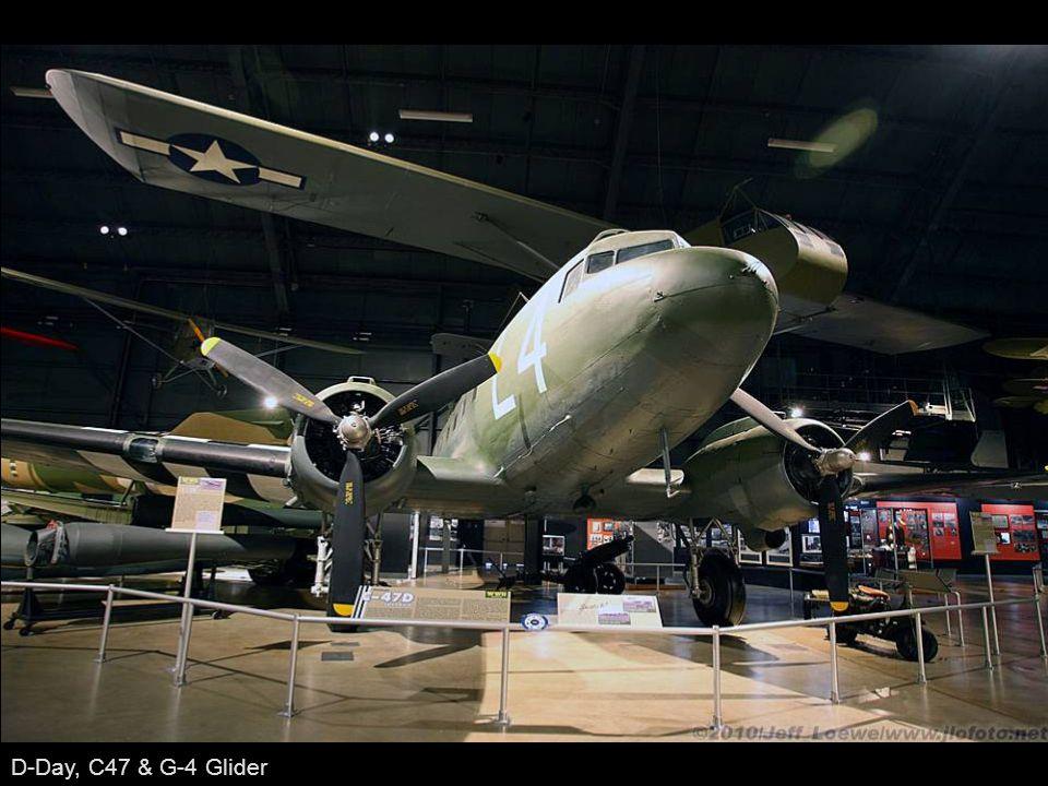 D-Day, C47 & G-4 Glider