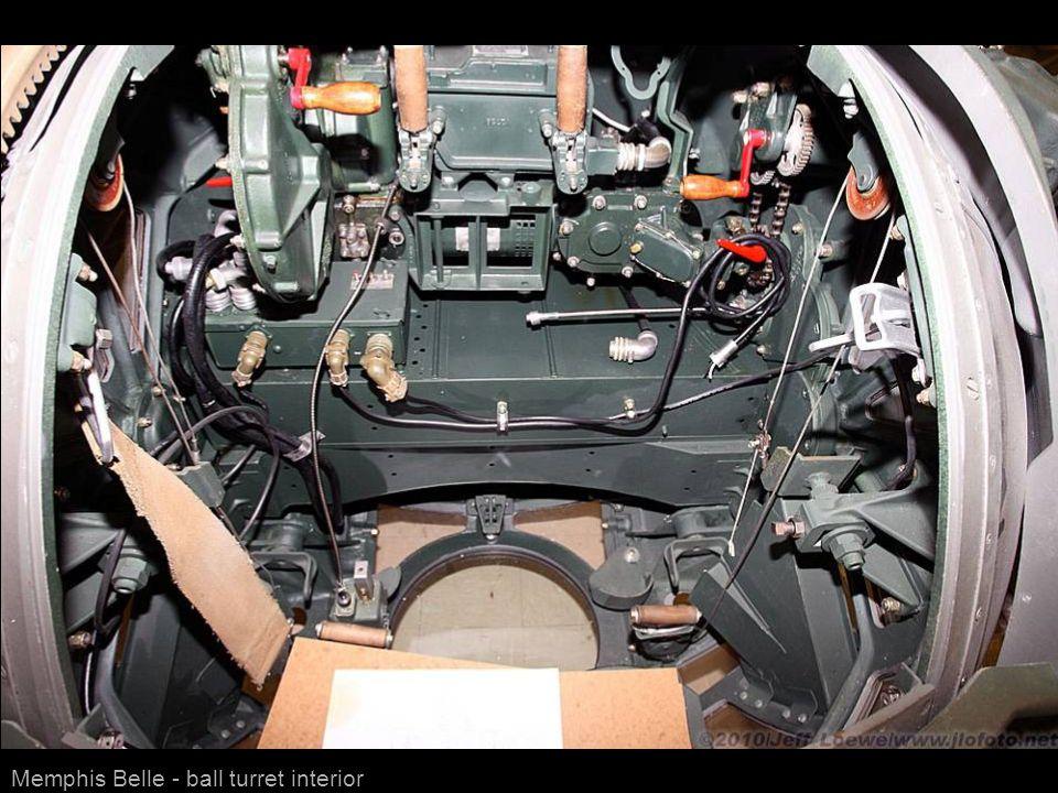 Memphis Belle - ball turret interior