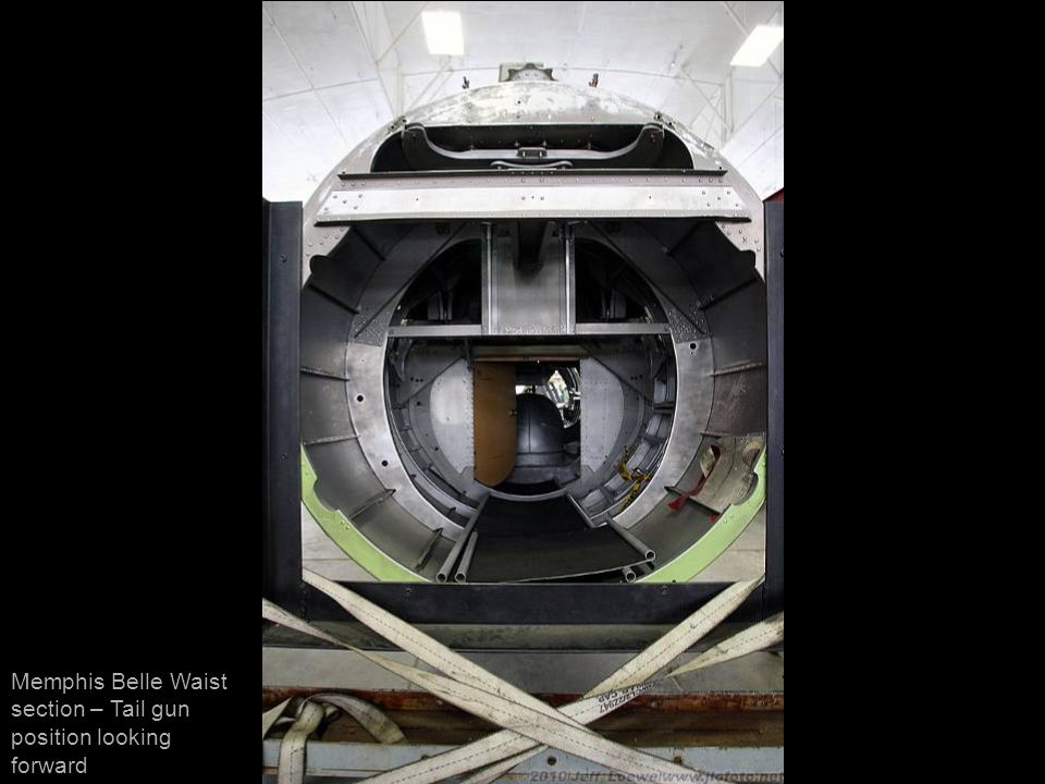Memphis Belle Waist section – Tail gun position looking forward