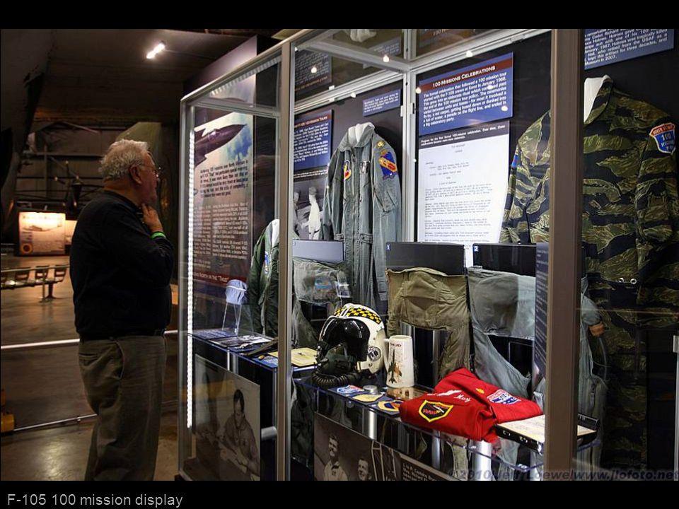 F-105 100 mission display