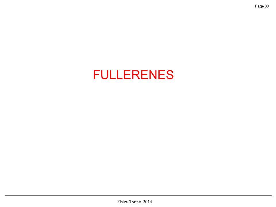 Fisica Torino 2014 Page 80 FULLERENES