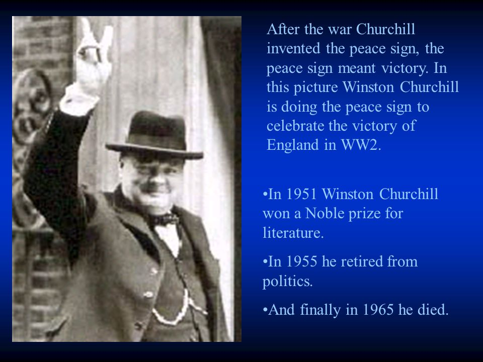 Churchill wrote many speeches for the British public including Blood,Sweat and Tears and Struggle Progress.
