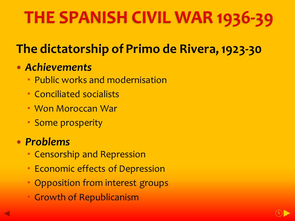 3rd Phase Feb-July 36 - Build up to war Feb - first evenly contested election, victory for Popular Front (narrow in votes) Azaña President, but Socialists under Largo Caballero ('Spanish Lenin') stay out of govt Growing violence/unrest - workers want reforms, extreme right destabilising govt  Land occupations, strikes and church burnings Break down of law + order, political assassinations, Right plots military coup July 13 Calvo Sotelo killed – 17/18 coup begins 16