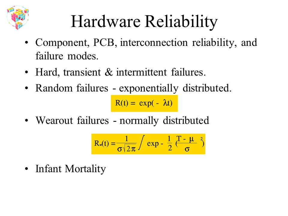 Hardware Reliability Component, PCB, interconnection reliability, and failure modes.