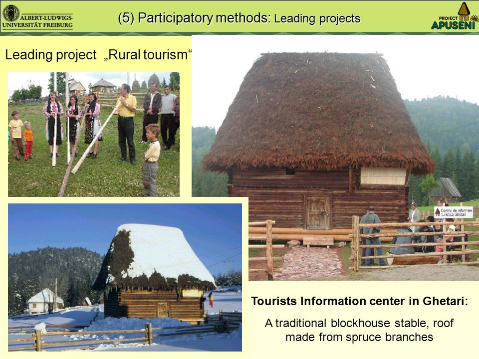 "New tourist pension Seminar ""Rural tourism"" Leading project ""Rural tourism"""
