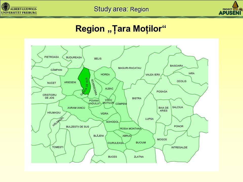 6.000 ha - 3.800 ha forest - 2.200 ha open land 308 ha 175 ha forest 133 ha open land High pasture Poiana Călineasa , 1350 m a.s.l.