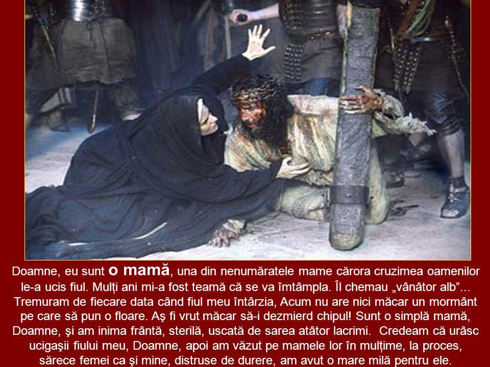 Doamne, eu sunt o mamă, una din nenumăratele mame cărora cruzimea oamenilor le-a ucis fiul.