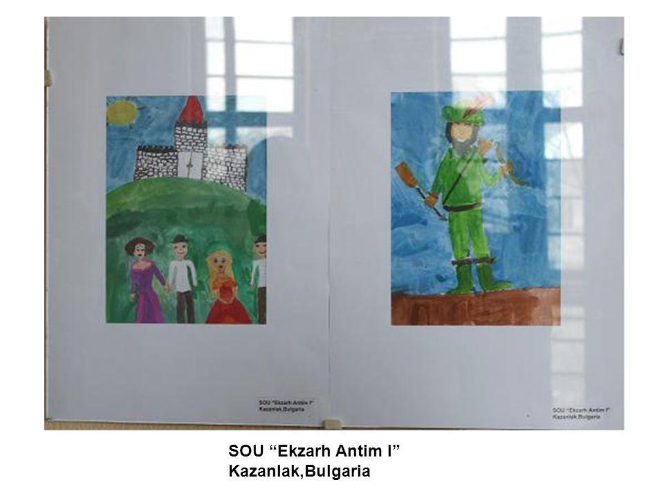 "SOU ""Ekzarh Antim I"" Kazanlak,Bulgaria"