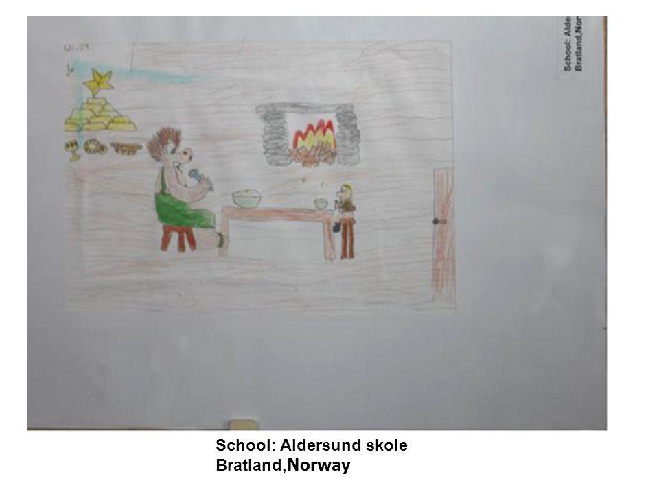 School: Aldersund skole Bratland, Norway