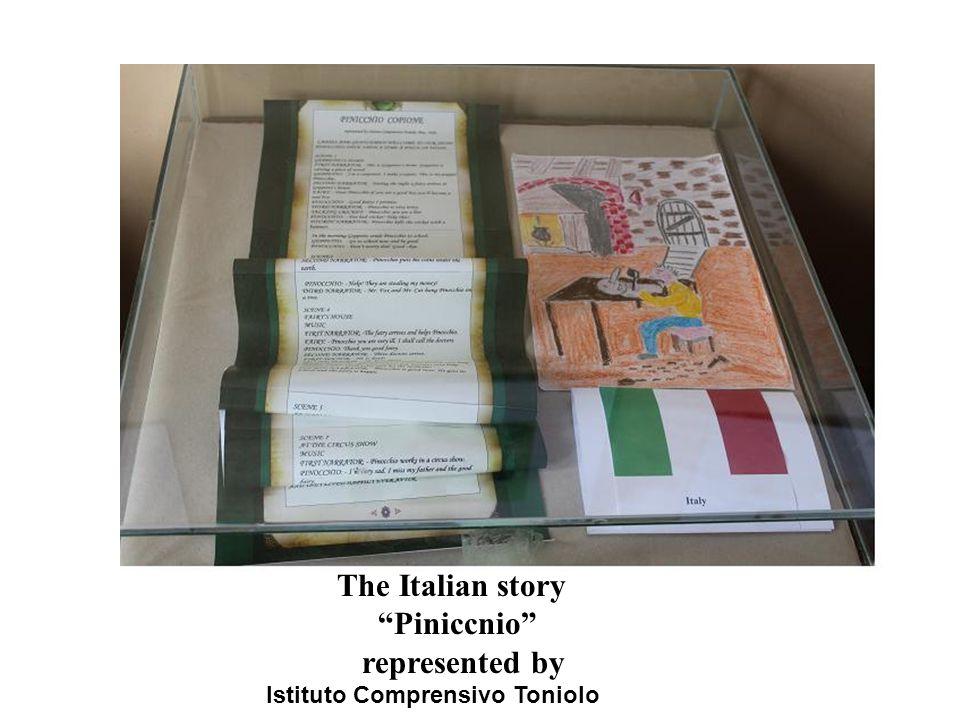 The Italian story Piniccnio represented by Istituto Comprensivo Toniolo