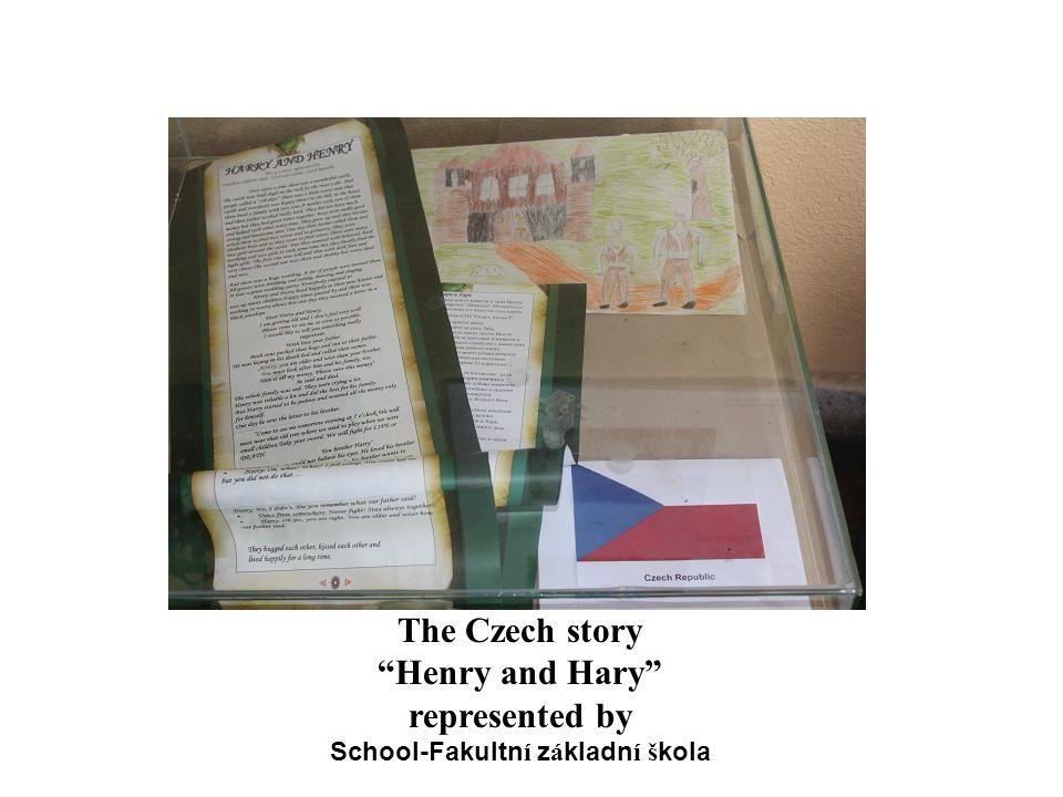 """The Czech story """"Henry and Hary"""" represented by School-Fakultn í z á kladn í š kola"""