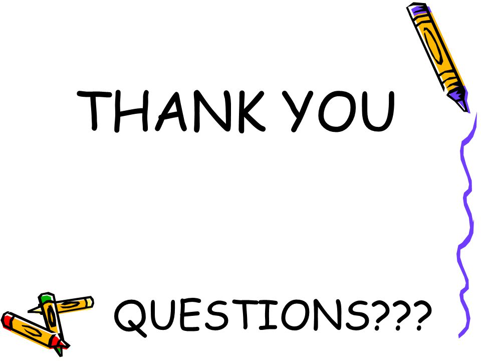 THANK YOU QUESTIONS???