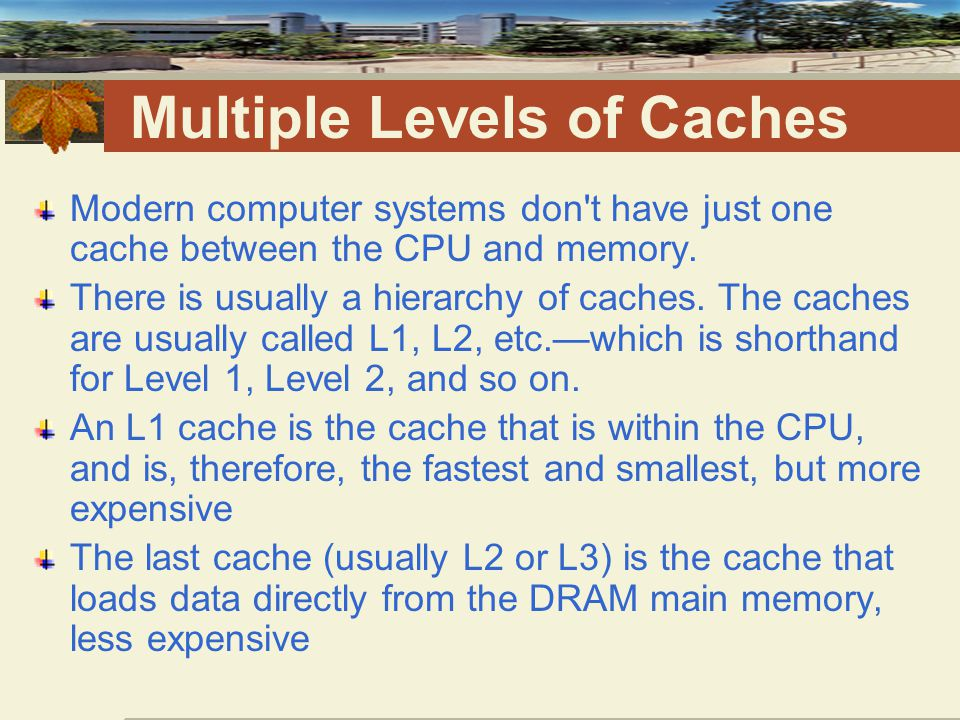 Under-used Cache Lines Suppose the cache line is 32 bytes wide, as it often is.