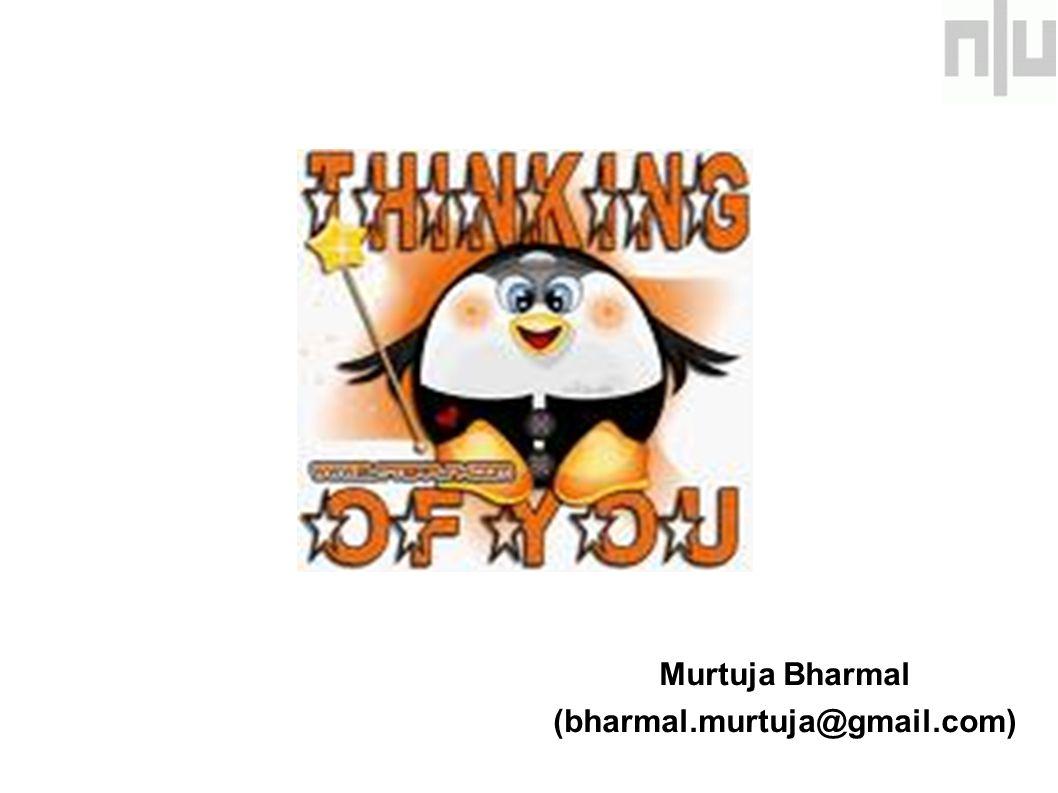 Murtuja Bharmal (bharmal.murtuja@gmail.com)