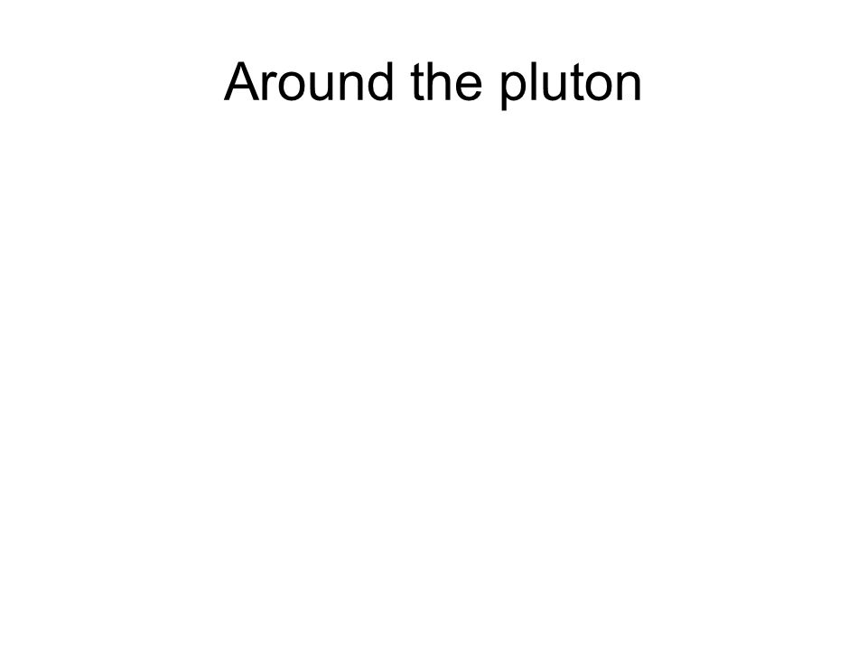 Around the pluton