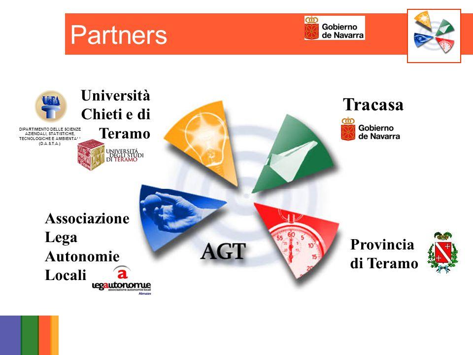 DIPARTIMENTO DELLE SCIENZE AZIENDALI, STATISTICHE, TECNOLOGICHE E AMBIENTALI (D.A.S.T.A.) Provincia di Teramo Tracasa Associazione Lega Autonomie Loca