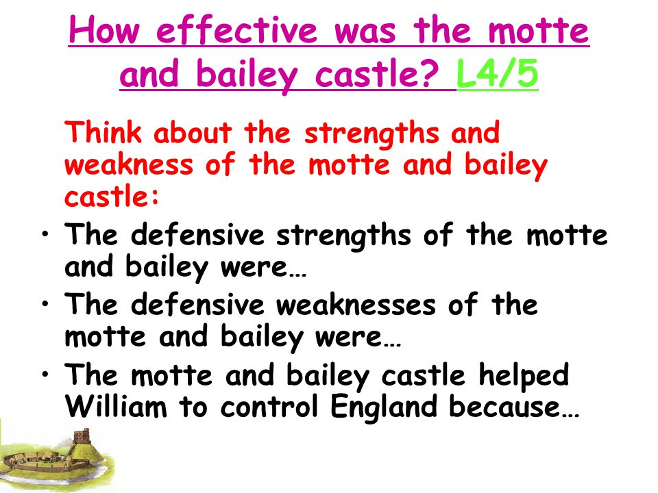 Why did William build Castles: Fireworks Fireworks Consolidate: