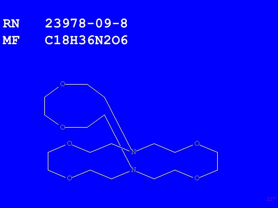 227 RN 23978-09-8 MF C18H36N2O6