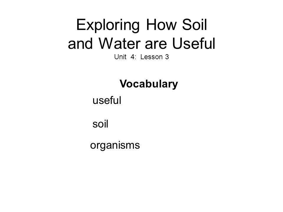 Soil What is soil.